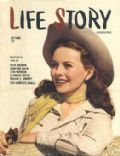 Jeanne Crain on the cover of Life Story (United States) - September 1944
