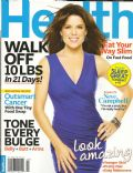 Neve Campbell on the cover of Health (United States) - April 2011