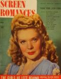 Alice Faye on the cover of Screen Romances (United States) - October 1943