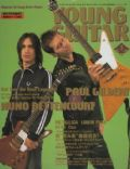 Nuno Bettencourt, Paul Gilbert on the cover of Young Guitar (Japan) - January 2004
