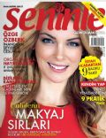 Özge Özberk on the cover of Seninle (Turkey) - November 2012