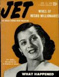 Toy Sewell on the cover of Jet (United States) - January 1952