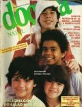Jair Oliveira, Michael Biggs, Simony on the cover of Docura (Brazil) - December 1984