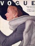 Lisa Fonssagrives on the cover of Vogue (United Kingdom) - September 1951