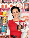 Katy Perry on the cover of More (United Kingdom) - January 2013