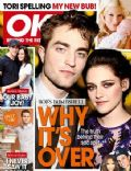Kristen Stewart, Robert Pattinson on the cover of Ok (Australia) - November 2011