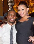 Adrienne Williams-Bosh and Chris Bosh