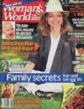 Michelle Pfeiffer on the cover of Womans World (United States) - April 1990