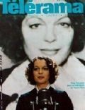 Romy Schneider on the cover of Telerama (France) - September 1980