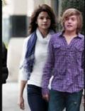 Cole Sprouse and Selena Gomez