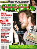 Chris Barron on the cover of Circus (United States) - April 1993