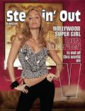 Laura Vandervoort on the cover of Steppin Out (United States) - April 2010