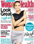 Heidi Klum on the cover of Womens Health (South Africa) - April 2014