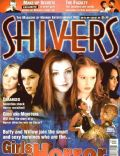 Neve Campbell on the cover of Shivers (United States) - November 1996