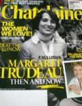 Margaret Trudeau on the cover of Chatelaine (Canada) - November 2009