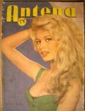 Brigitte Bardot on the cover of Antena (Argentina) - October 1958