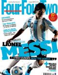 Lionel Messi on the cover of Four Four Two (United Kingdom) - August 2009