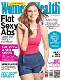 Bianca King on the cover of Womens Health (Philippines) - November 2012