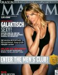 Tricia Helfer on the cover of Maxim (Germany) - January 2007