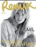 Kate Upton on the cover of Remix (New Zealand) - August 2011
