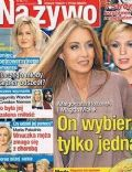 Magda Molek, Malgorzata Rozenek on the cover of Na Ywo (Poland) - February 2013
