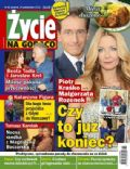Malgorzata Rozenek, Piotr Krasko on the cover of Zycie Na Goraco (Poland) - October 2013