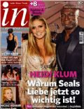 Heidi Klum, Seal on the cover of In (Germany) - February 2010