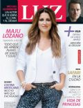 Maju Lozano on the cover of Luz (Argentina) - November 2013
