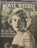 Mary Pickford on the cover of Movie Weekly (United States) - January 1922