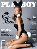 Kate Moss on the cover of Playboy (Netherlands) - February 2014