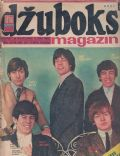 Bill Wyman, Brian Jones, Charlie Watts, Keith Richards, Mick Jagger on the cover of Dzuboks (Yugoslavia Serbia and Montenegro) - May 1966