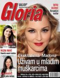 Madonna on the cover of Gloria (Serbia) - October 2013
