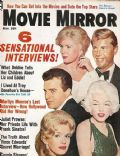 Debbie Reynolds on the cover of Movie Mirror (United States) - November 1962