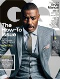 Idris Elba, Jeff Bridges on the cover of Gq (United States) - October 2013