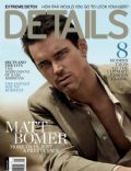 Matt Bomer on the cover of Details (United States) - May 2014