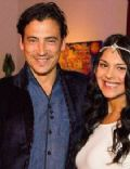 Andrew Keegan and Arista Ilona