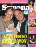 Denise Dumas, Martín Campilongo on the cover of Semana (Argentina) - August 2007