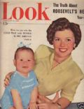 Shirley Temple on the cover of Look (United States) - February 1949