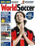 Zlatan Ibrahimovic on the cover of World Soccer (United Kingdom) - June 2011