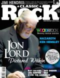 Jon Lord (II) on the cover of Classic Rock (Russia) - October 2009