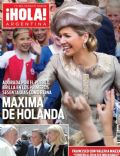 Princess Máxima of the Netherlands on the cover of Hola (Argentina) - June 2013