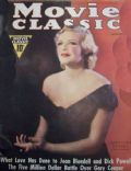Madeleine Carroll on the cover of Movie Classic (United States) - January 1937