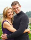 Ariana Richards and Mark Aaron Bolton