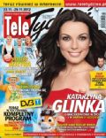 Katarzyna Glinka on the cover of Tele Tydzie (Poland) - November 2012