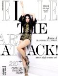 Jessie J on the cover of Elle (Indonesia) - December 2012