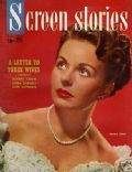 Jeanne Crain on the cover of Screen Stories (United States) - February 1949