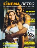 Raquel Welch on the cover of Cinema Retro Magazine (United Kingdom) - January 2006