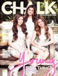Chanel Morales, Sophie Albert on the cover of Chalk (Philippines) - April 2014