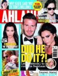 David Beckham, David Beckham and Victoria Beckham, Victoria Beckham on the cover of Ahlan (United Arab Emirates) - August 2012