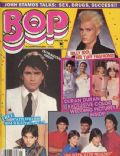 Billy Idol, Giovanna Cantone, John Stamos, Julie Freidman, Nick Rhodes, Ralph Macchio, Roger Taylor on the cover of Bop (United States) - January 1985